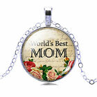 BEST MOM necklace 2 styles: hearts or flowers   FREE GIFT BOX & FREE SHIPPING!