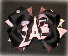 Eiffel Tower Paris Pink Black Boutique Hair Bow Funky Hairbow Party Theme Poodle