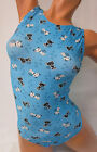 FlipFlop Leos Gymnastics Leotard,  Gymnast Leotards - BLUE KITTY