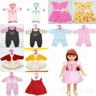 "18"" American girl doll Handmade Clothes Party Dress Skirt Pajamas Coat Cute gift"