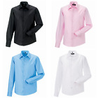 New RUSSELL Mens Smart Tailored Ultimate Long Sleeve Shirt in 4 colours 11 Sizes