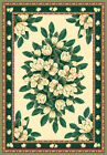 """IVORY floral 2x8 area RUG runner TRADITIONAL carpet : Actual 1' 11"""" x 7' 4"""""""
