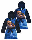 Boys Minions Dressing Gown New Kids Despicable Me Fleece Bathrobe Age 3-8 Years