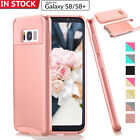 Samsung Galaxy S8 S8+ Plus S7 Case Hybrid Shockproof Hard Rugged Glossy Cover