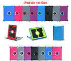 Внешний вид - For Apple iPad Air 1 1st Gen Protective Cover [Stand Fits Otterbox Defender Case