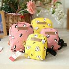 Cute Animal Dog Bag Pet Puppy Cat Backpack Outdoor Bag With Leash For Small Dog