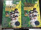 Lot of (2) 2001 Topps Baseball Boxes - Series #1
