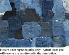 Lots lot pairs Women's Misses Jr Brand Name denim pre-owned used jeans wholesale