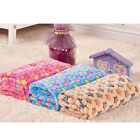 50*80 CM Pet Dog Cat Rest Blanket Pet Cushion Bed Soft Warm Sleep Mat 3 Color JR