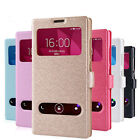 Fashion Synthetic Leather Fitted Case Skin Soft Case Cover For Huawei Honor 3C