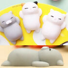 Kids Soft Silicone Lovely Cat Stress Anxiety Relief Squeeze Fun Toys Ornament