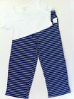 NWT Nautica Blue & White Stripe Pajama Set - Various Sizes