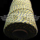 BEAUTIFUL BAKERS TWINE SLATE GREY / DAFFODIL YELLOW 2mm 2 PLY - STRING CORD