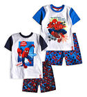 Boys Spiderman Pyjamas New Kids Marvel 100% Cotton Avengers PJs Age 3 - 8 Years