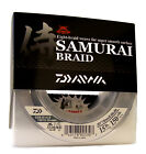Daiwa Samurai Braided Fishing Line - 150 Yards Green Fishing Line