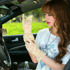 Dance Accessories Lace Clothing Hollow Flower Gloves Mitten Full Finger