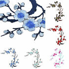 Blossom Flower Applique Clothing Embroidery Patch Sticker Iron On Sew Cloth LD7