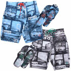 Smith & Jones Men Convex Board Shorts & Free Flip Flops Designer Swimming Trunks
