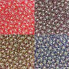 """Floral POLYCOTTON FABRIC - Dainty Flowers - Flower Material - 114cm / 45"""" Wide"""