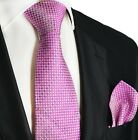 Moonlite Mauve Silk Tie and Pocket Square