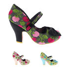 Womens Irregular Choice Fancy This High Heel Party Strappy Court Shoe UK 3.5-8.5