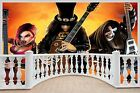 Huge 3D Balcony Graphic Music ists Slash Kiss Wall Stickers Mural 640