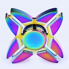 1PC Tri Fidget Hand Spinner Rainbow Finger Gyro Toy Focus ADHD Autism US USPS