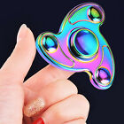 1PC Tri Fidget Hand Spinner Rainbow Finger Gyro Toy Focus ADHD Autism US USPS <br/> Buy 2 get 1 free, just add all 3 item to cart, then pay