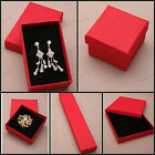 RED JEWELLERY GIFT BOX RING BRACELET EARRINGS NECKLACE BROOCH PRESENT SMALL NEW