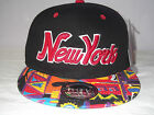 URBAN UNISEX NEW YORK  FLAT PEAK BASEBALL CAP SUN HAT, NY HIP HOP