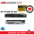 HIKVISION CCTV NVR 16CH IP 1080P CHANNEL HIGH DEFINITION POE DS-7716NI-E4/16P