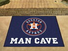 Houston Astros Man Cave Area Rug Choose from 4 Sizes