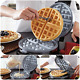 Belgian Waffle Maker Commercial Double Waring Breakfast Iron Kitchen Heavy Steel cheap