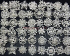 Lot 5-100pc Sliver Rhinestone Crystal Brooches Pins DIY Wedding Bridal Bouquet