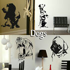 Dog Wall Stickers! Transfer Graphic Decal Decor Canine Stencil Large Art Sticker