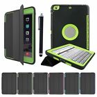 Heavy Duty Case Shockproof Smart Leather Cover For IPad 2 3 4 Mini 1 2 3 4 Air