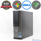 Dell Optiplex 390 SFF Intel i-Series Windows 7 WiFi Choose Your Build (ACC)