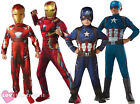 CHILD CAPTAIN AMERICA IRON MAN CIVIL WAR COSTUME OFFICIAL LICENSED SUPERHERO