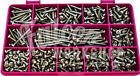 840 ASSORTED PIECE A2 STAINLESS No.6 POZI SELF TAPPING TAPPER SCREW SCREW KIT