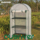 New 3-Tier Arch Roof Greenhouse Green House Warm Plant Flower Shed Waterproof