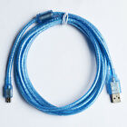 USB 2.0 Type A to Mini B Male 5-Pin Data Charging Cable Cord 0.3/0.5/1/1.5/3m
