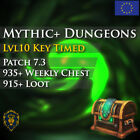 WoW Boost Horde ✯ Mythic+ Dungeons Run Weekly Chest ✯ All EU Horde Side ✯