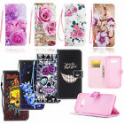 Leather Magnetic Flip Wallet Soft Phone Case Cover for Samsung Galaxy Cell Phone