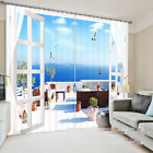 3D Vacation 23 Blockout Photo Curtain Printing Curtains Drapes Fabric Window US