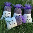 Dried  Lavender Flower Sachet Bags Fragrance Wardrobe Purple Organza Bags TY