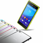 Fashion Slim Aluminum Metal Frame Shockproof Case Cover Skin For Sony Xperia M5