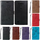 For LG V10 Luxury Shockproof Leather Card Pocket Wallet Stand Rubber Case Cover