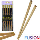 Chinese Chopsticks Wooden Bamboo Stir Fry Party Reusable Japanese Traditional