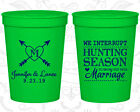 Personalized Cheap Wedding Cups Custom Cup (318) Hunting Wedding Favors