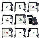 "Clearly Stadium Approved 11"" X 11"" Clear Tote Drawstring Cinch Bag on eBay"
